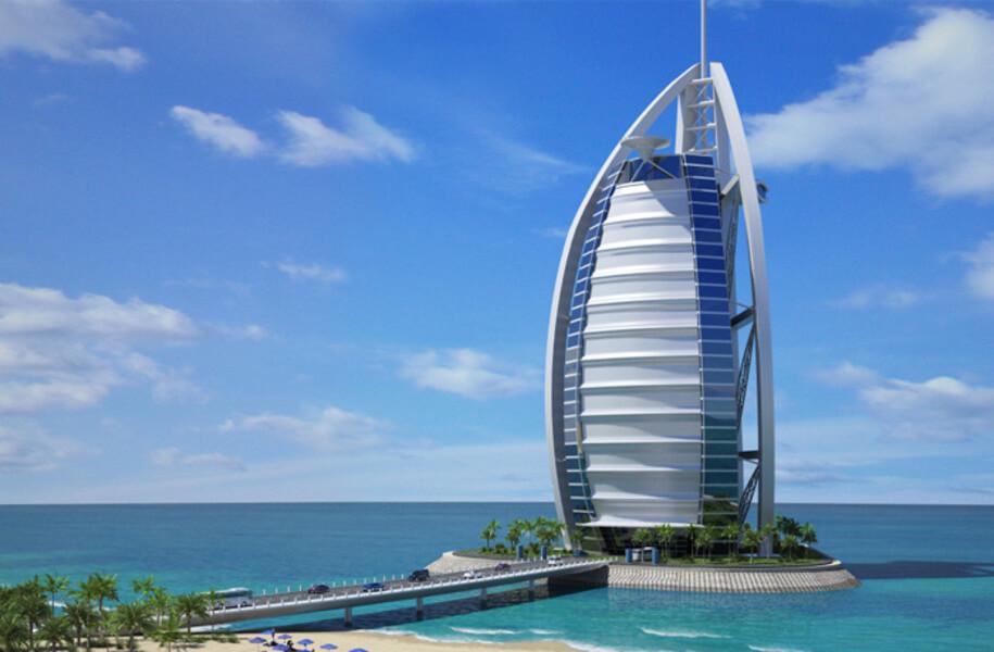 Burj Al Arab, Дубай