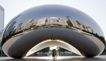 Cloud Gate, Чикаго