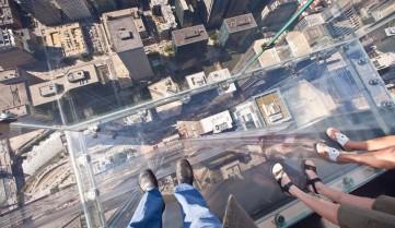 Башня со стеклянным полом, Чикаго