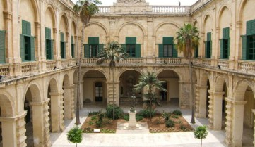 Дворец Великого магистра, Мальта
