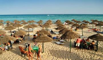 Пляж в отеле, Хаммамет