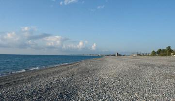 Пляж, Кобулети