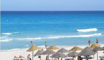 Пляж в отеле, Махдия