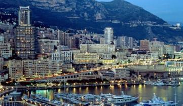 Вид ночью, Монако