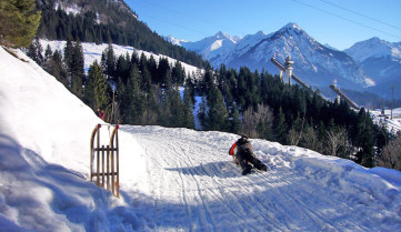 Лыжная трасса, Оберстдорф