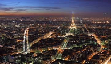 Ночной город, Париж