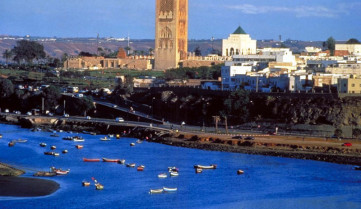 Вид на город, Рабат
