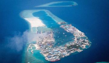 Искусственный остров Тилафуши, Мальдивы