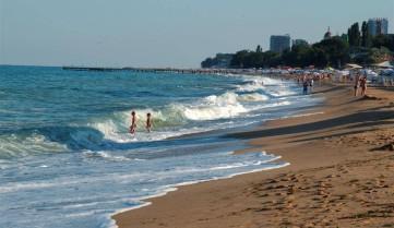 Пляж, Золотые Пески