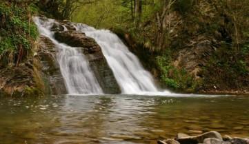 Водопад, Бескиды