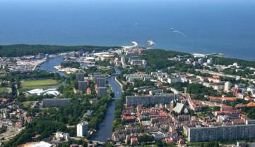 Вид на город, Колобжег