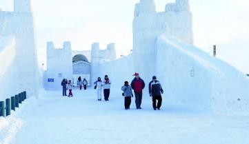 Город из снега, Лапландия