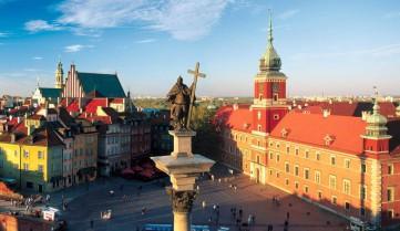 Площадь, Варшава