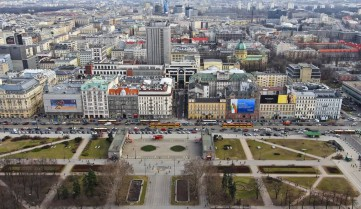 Вид на город, Варшава