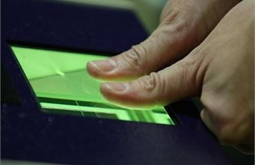 Отпечатки пальцев для получения шенгенских виз