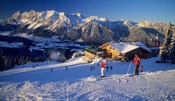 Лижний курорт в Австрії