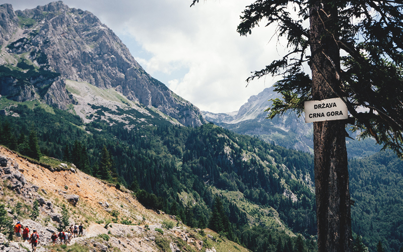 Чорногорія туризм