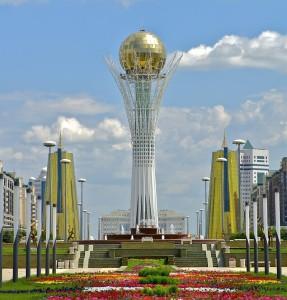 Монумент Астана-Байтерек