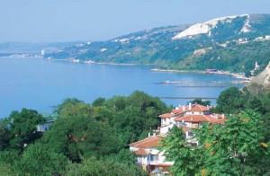 Морской пейзаж Румынии