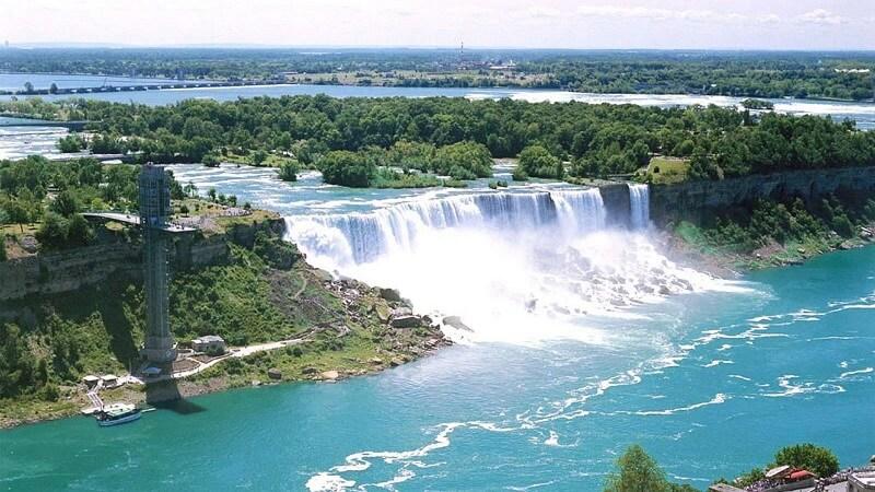 Обои водопады на рабочий стол Картинки обои водопады
