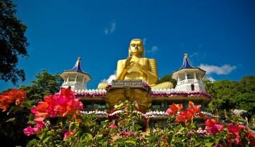 Шри-Ланка, золотий храм Дамбулла