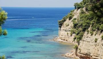 Пляж полуострова