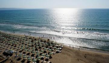 Кранево, вид на Черное море