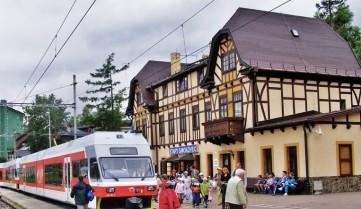 Словкаия, Смоковец, вокзал