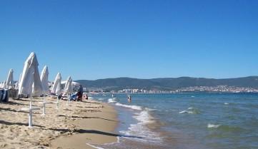 Пляжи курорта Солнечный Берег