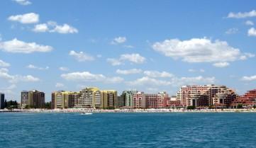 Вид на курорт Солнечный Берег