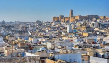 Вид на город Сусс, Тунис