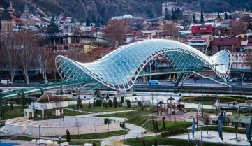 Мост мира, Тбилиси