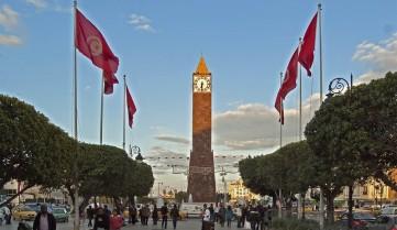 Центральная площадь Туниса