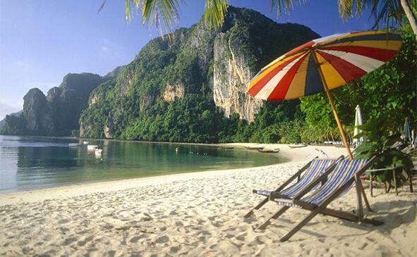 Пляжний відпочинок в Таїланді