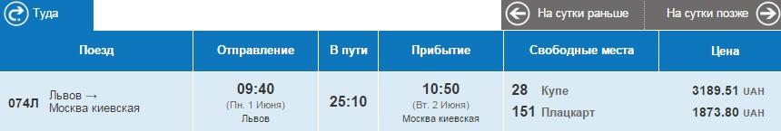 Львов-Москва