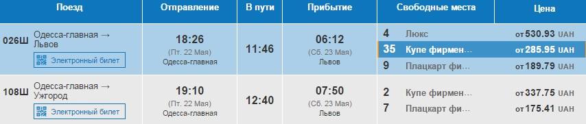 Из Одессы во Львов