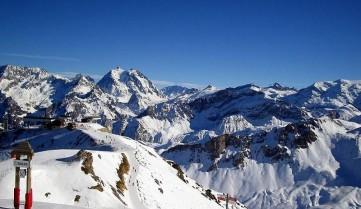 Лыжный спуск в Эль Тартер