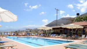 бассейн в отеле, о. Крит, Ираклион