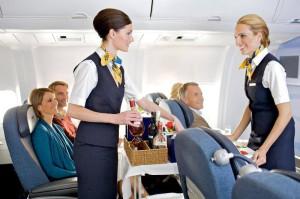 стюардессы самолета