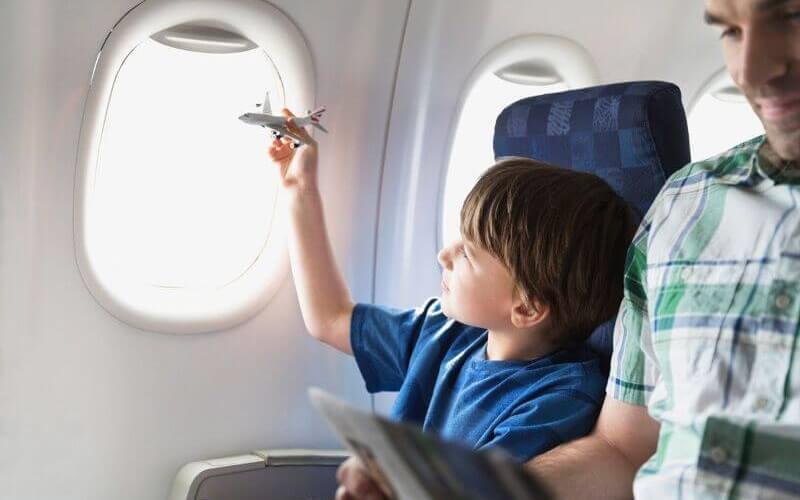 правила поведения во время перелета