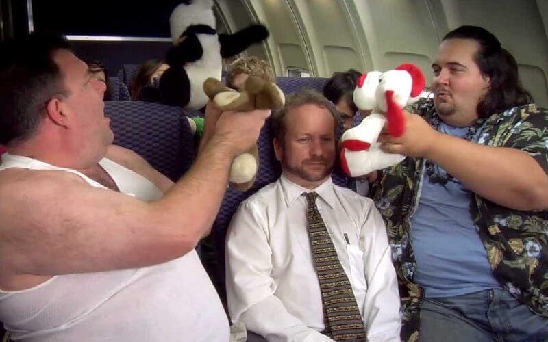 поведение в самолетах