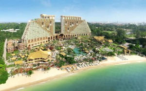отель Centara Grand Mirage Beach Resort Pattaya в Таиланде