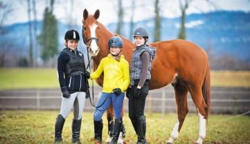 Конный спорт в лагере