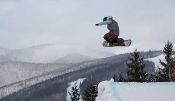 Сноубординг на горнолыжном туре