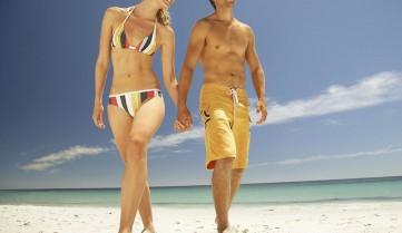 Пляжный отдых для пары