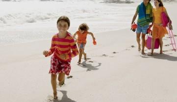 Пляжный отдых для всей семьи