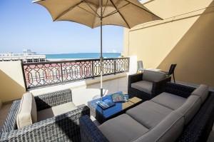 вид с балкона в отеле Rixos Babl Al Bahar