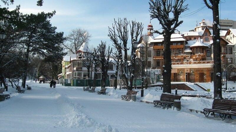 truskavts 1 Доступный оздоровительный отдых в любое время года в лучших санаториях Трускавца