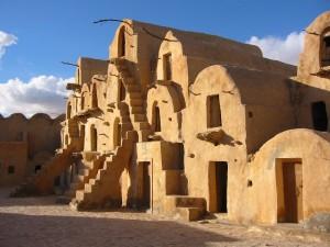 деревня Люка Скайуокера в Тунисе