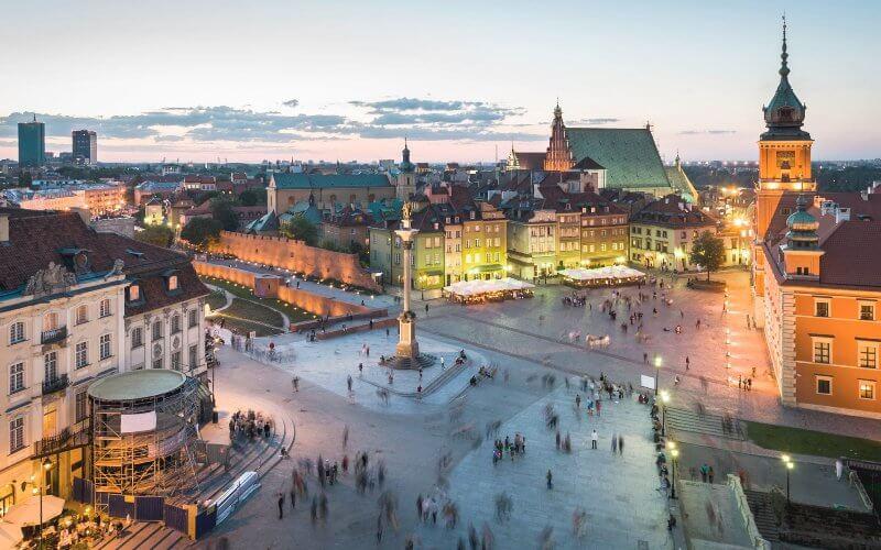 авиабилеты Киев - Варшава